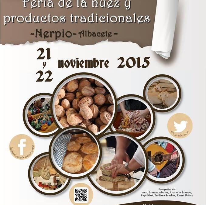 Feria de la Nuez y productos tradicionales de Nerpio (Albacete)